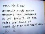 Antesaria Audio na prawde docenia twoje zaangażowanie   w wasze produkty. Jesteśmy szczęśliwi uczestnicząc (będąc częścią) w tym wspaniałym SHOW !-    relacja z   World HIGH END AUDIO  SHOW w Monachium